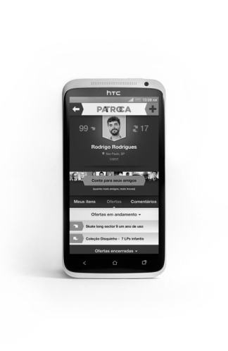 Patroca<br>Bartering App